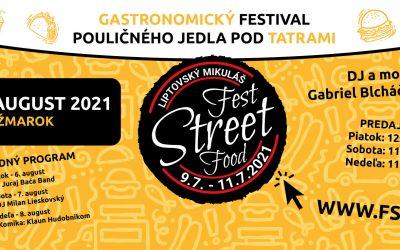 Fest Street Food štartuje už tento piatok v Kežmarku